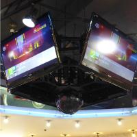 天井には大型テレビが4台